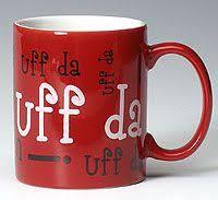 red uff da mug minnesota norway sweden jul scandinavian childhood