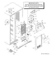 Ge Appliance Parts Canada Ge Bottom Freezer Refrigerator Parts Refrigerator Decoration Ideas