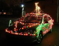 How To String Car Christmas Lights On Your Vehicle For The ...