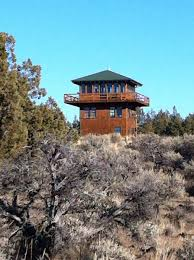 Lookout Tower Plans Forest Fire Lookout Tower House Small House Bliss