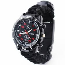 <b>Survival Watch Outdoor</b> Camping Medical <b>Multifunctional</b> Compass ...