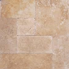 walnut travertine french pattern pavers