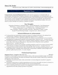 Registered Nurse Resume Sample Format 24 Unique Nursing Resume Format Resume Templates Ideas Resume 18