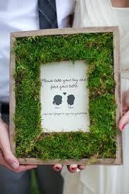 diy picture frame craft ideas moss wedding frame home decor name ideas