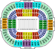 Panthers Stadium Seating Chart Related Keywords