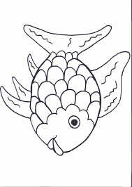 You can print or color them online at getdrawings.com for absolutely free. Rainbow Fish Template Coloring Home
