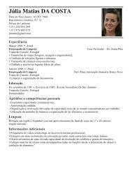 Exemplos De Curriculos Modelo De Curriculum Empregada De Limpeza Exemplo De Cv Governanta