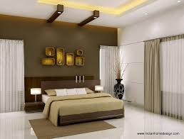 bedroom wall design. Bedroom: Ravishing Brown Bedroom Wall Design With Magnificent Modern Bed Idea And Trendy Small Cabinet T
