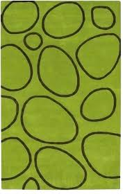 brown and lime green area rugs rug s