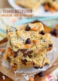 coconut erscotch chocolate chip gooey bars