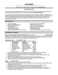 realtor resume samples