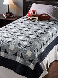 Perfect for that young man in your life. This traditional quilt ... & College Bound Quilt Pattern-excellent pattern for a masculine quilt card Adamdwight.com