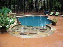 Pool Designs For Small Backyards Gorgeous Custom Swimming Pool And Spa Photos Charlotte Waxhaw Weddington