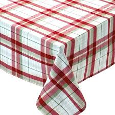 red and white tablecloth round plastic tablecloths roll 120 inch rectangular checd