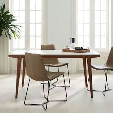 white laquer furniture. west elm modern dining table small 39 white laquer furniture e