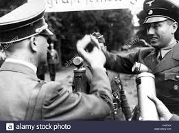 Albert Forster with Adolf Hitler in Gdansk Stock Photo - Alamy