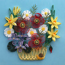 Paper Crafted Flowers Paper Craft Wikipedia