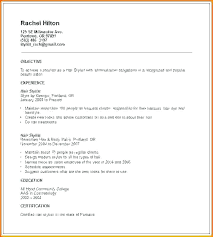 How To Make A Modeling Resume Resume For Beginners Resume Example For Beginners How To Make A 65