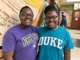 Lindblom twins set to graduate as co-valedictorians: 'We're successful  because of ourselves' - Chicago Sun-Times