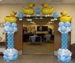 Up, Up, And Away Balloons - Baby Shower Ideals and Examples