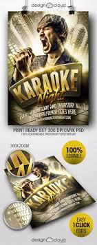 Karaoke Night Flyer Template Karaoke Night Flyer Template On Behance 22