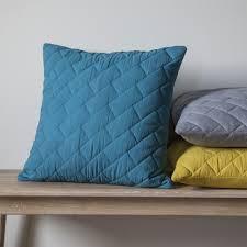 Simple Cushion | Contemporary Cushion | Cushion | Cushions ... & Bricks Quilted Cushion-Teal Adamdwight.com