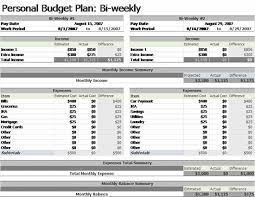 Biweekly Budget Template Bi Weekly Budget Template Planner Addict Pinterest Budgeting