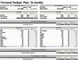 Bi Weekly Budget Template Planner Addict Pinterest Budgeting