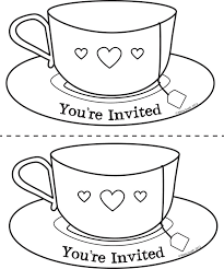 Small Picture Pics For Teacup Coloring Page xcaras Pinterest Teacup and