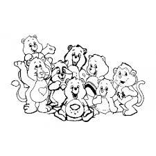 Disegno Di Gli Orsetti Del Cuore Da Colorare Per Bambini