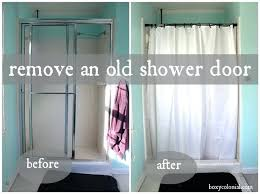 installing a shower door how to remove an old shower door and replace with a shower installing a shower door