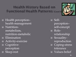 Functional Health Patterns Nrs 103 Nursing Assessment And Health History Ppt Download