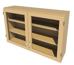 fisherbrandwood wall cabinet 48 in