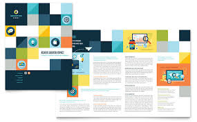 Company Brochure Example Advertising Company Brochure Template Design