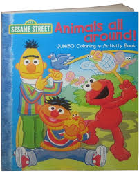 Sesame Street Coloring Book Spectacular Sesame Street Coloring