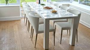 extendable dining table seats 12 dining room tables that seat or more the modern white hi