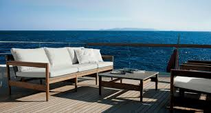 scandinavian outdoor furniture. Contemporary Sofa / Garden Teak For Hotels ROAD RODA . Scandinavian Outdoor Furniture