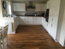 want a wooden effect kitchen floor