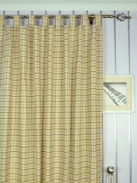 Extra Wide Hudson Small Plaid Tab Top Curtains 100 Inch - 120 Inch Curtains  Heading Style Extra Wide Hudson Small Plaid Tab Top Curtains 100 Inch - 120  Inch ...