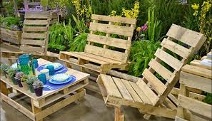 pallets outdoor furniture. Patio Furniture Made Of Pallets Outdoor Table From