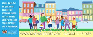 Shop Maryland Tax Free Week