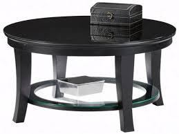 Furniture: Black Round Coffee Table Unique Black Round Coffee Table The  Beauty Of Black And