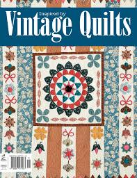 Beautiful new book: Inspired by Vintage Quilts | Quilters Companion & Vintage Quilts Cover Adamdwight.com