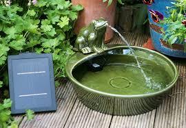 Creative Of Solar Fountain Garden Solar Garden Fountain Ebay