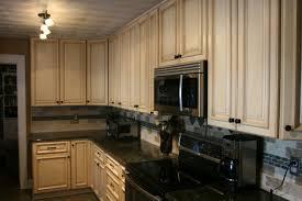 light kitchen cabinets with dark granite countertops kitchen
