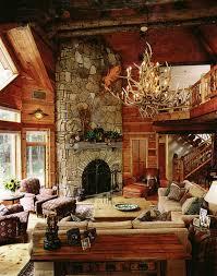 mh25 Log Cabin Interior Design: 47 Cabin Decor Ideas