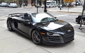 audi r8 convertible black. Interesting Convertible Audi R8 Spyder Black  GT Spyder Black Highperformance Edition With Convertible E