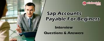 Sap Accounts Payable For Beginers Interview Questions Answers