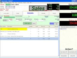 retailer pos point of inventory management software keyboard s screen