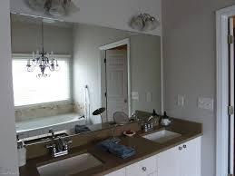 bathroom bathroom nice design ideas for brushed nickel mirror diy bathroom mirror frame ideas wall